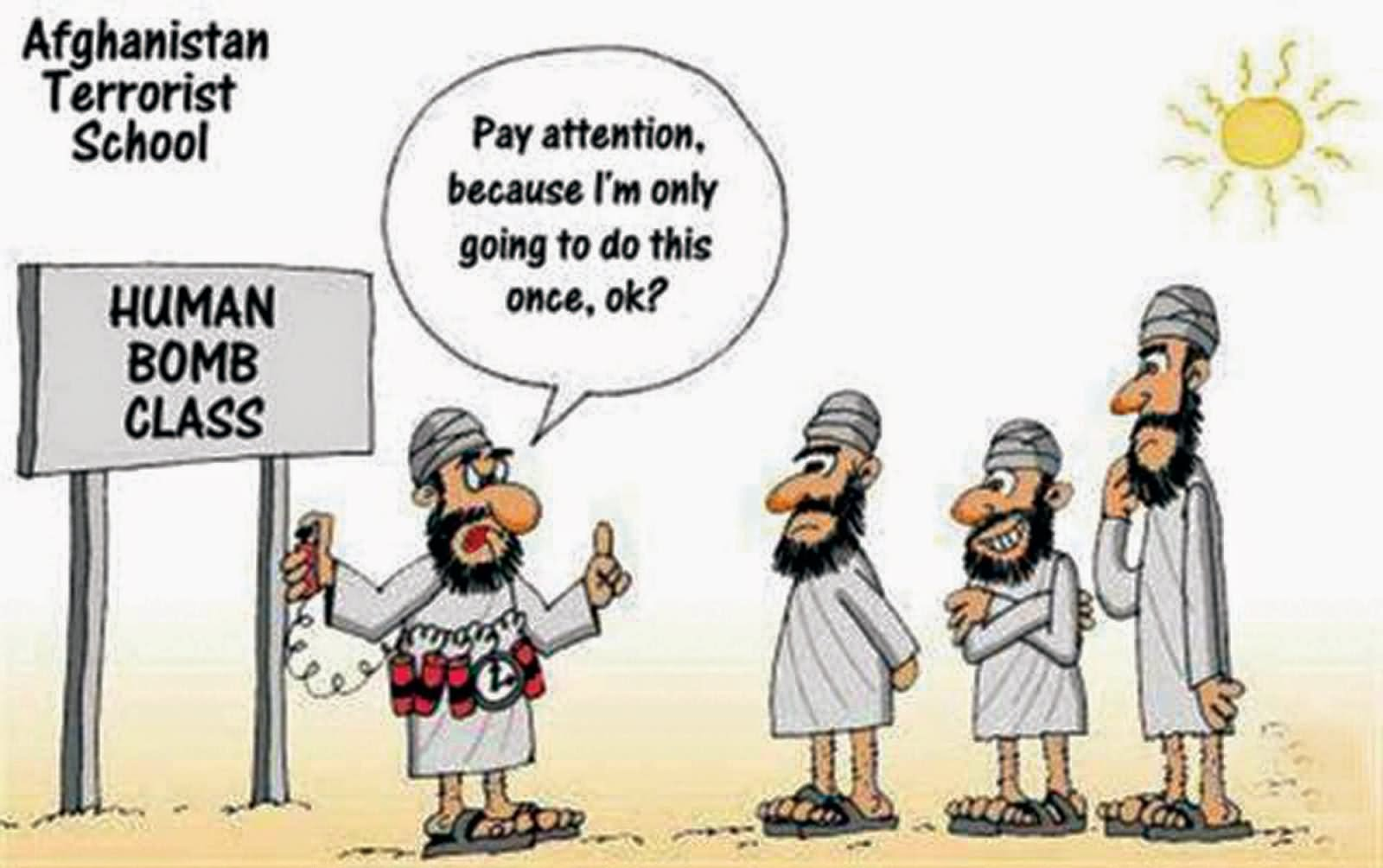 Funny-Afghanistan-Terrorist-School-Cartoons-Image